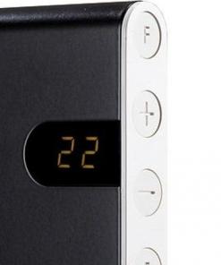 Adax neo design elektrische verwarming grijs